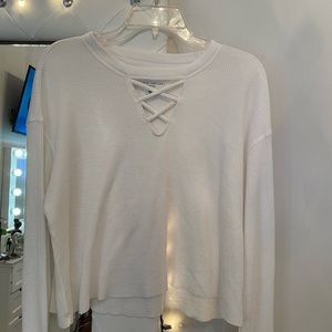 Perfect Condition Hollister White Top